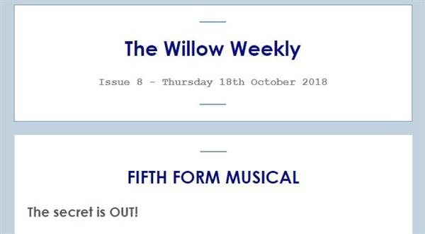 Willow Weekly Issue 8