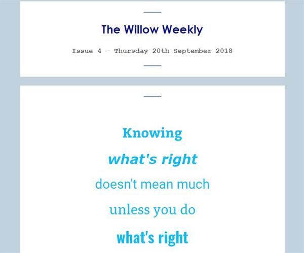 Willow Weekly Issue 4