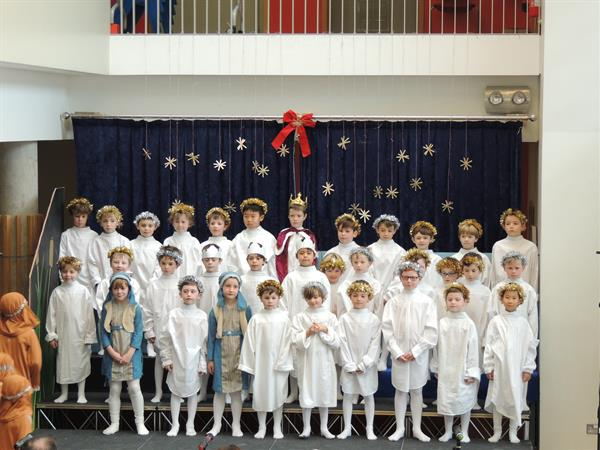 First Form Nativity Play