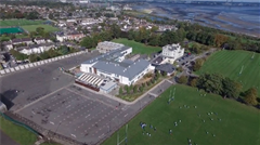 Drone Footage of Willow Park School