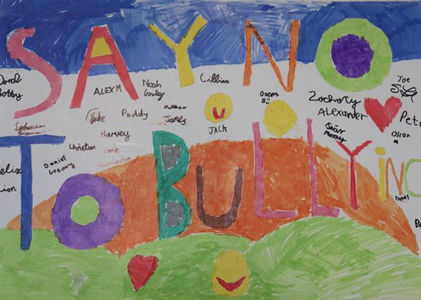Anti Bullying & Anti Cyber Bullying Week - Boys Art, Advice & Poems