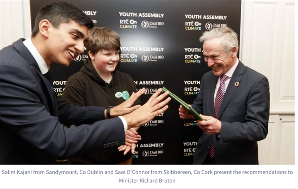 Vote for the Youth Assembly Recommendations
