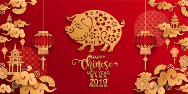 Happy Chinese New Year - 2019 - Year of the Pig