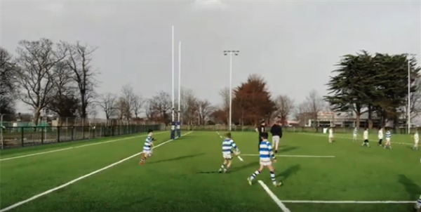 Drone Footage of the new 4G Pitch in Willow Park Junior School