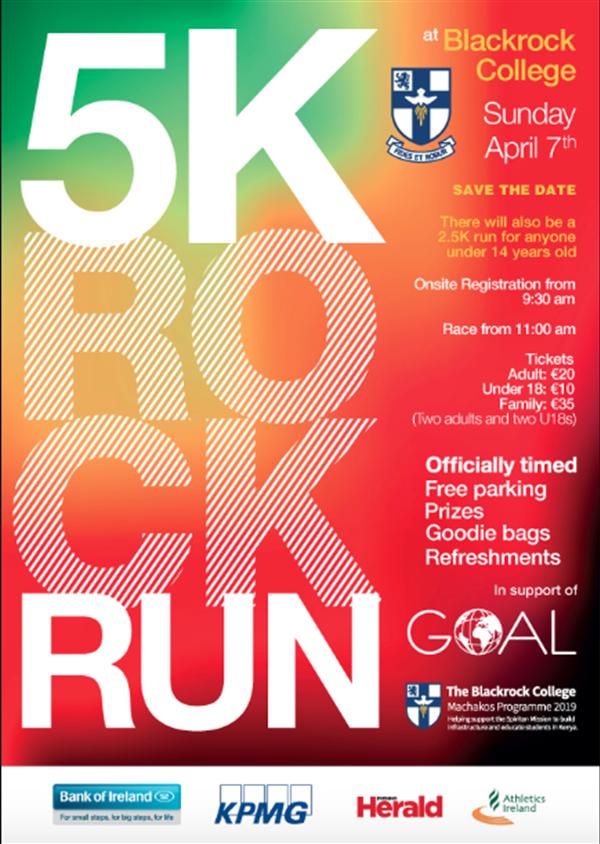 The 5k Rock Run