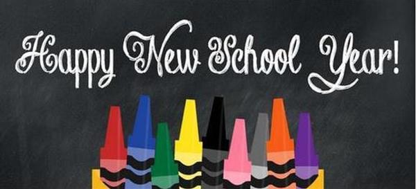 New School Year 2020/2021