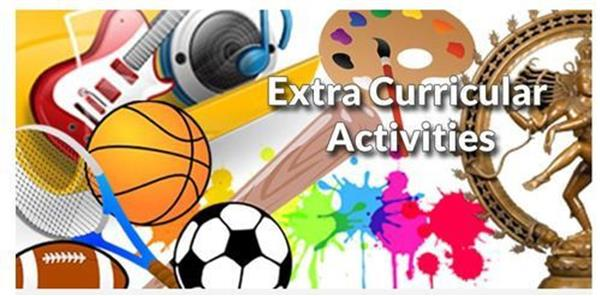 Extra Curricular Activities for Weeks 7 & 8
