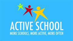 Active Schools Flag