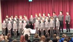 4th Form Choir Attended Wesley Inter-Schools  Choir Competition